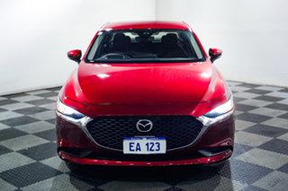 2019 Mazda 3 BP2SL6 G25 SKYACTIV-MT Evolve Red 6 Speed Manual Sedan.