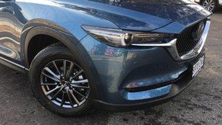 2021 Mazda CX-5 KF4WLA Touring SKYACTIV-Drive i-ACTIV AWD Eternal Blue 6 Speed Sports Automatic.