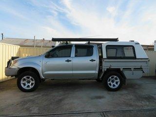 2005 Toyota Hilux KUN26R SR (4x4) Gold 5 Speed Manual Dual Cab Pick-up.