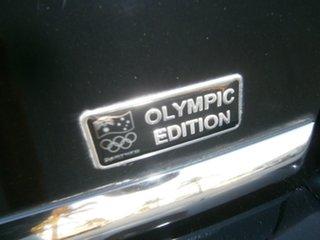 2008 Mitsubishi Lancer CJ MY08 Olympic Special Black 6 Speed Constant Variable Sedan