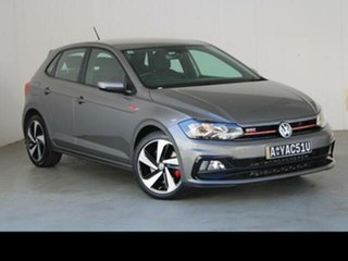2018 Volkswagen Polo AW MY18 Update GTi Silver 6 Speed Auto Direct Shift Hatchback.