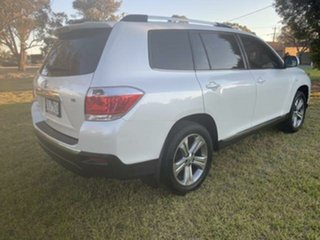 2012 Toyota Kluger GSU40R MY11 Upgrade KX-S (FWD) Crystal Pearl 5 Speed Automatic Wagon