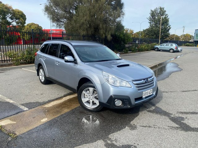 Used Subaru Outback B5A MY13 2.0D Lineartronic AWD Mile End, 2013 Subaru Outback B5A MY13 2.0D Lineartronic AWD Silver 7 Speed Constant Variable Wagon