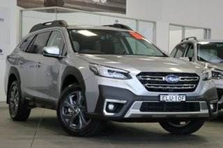 2020 Subaru Outback B7A MY21 AWD CVT Ice Silver 8 Speed Constant Variable Wagon.