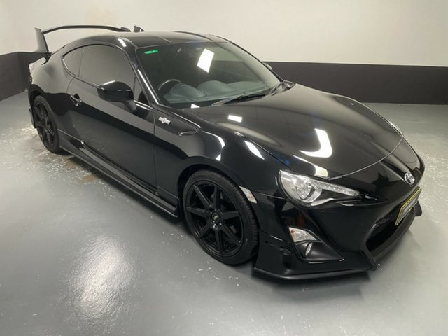 Used Toyota 86 ZN6 GTS Hamilton, 2015 Toyota 86 ZN6 GTS Black 6 Speed Sports Automatic Coupe