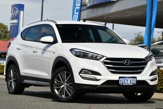 Used Hyundai Tucson TL MY18 Active X 2WD Melville, 2017 Hyundai Tucson TL MY18 Active X 2WD White 6 Speed Sports Automatic Wagon