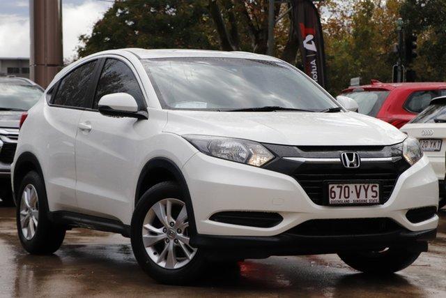 Used Honda HR-V MY15 VTi Toowoomba, 2015 Honda HR-V MY15 VTi White 1 Speed Constant Variable Hatchback