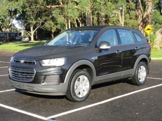 Used Holden Captiva CG LS Timboon, 2016 Holden Captiva CG LS Black Automatic Wagon