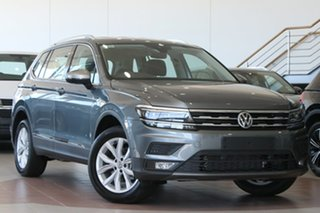 2020 Volkswagen Tiguan 5N MY21 110TSI Comfortline DSG 2WD Allspace Grey 6 Speed.