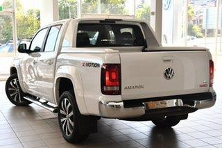 2021 Volkswagen Amarok 2H MY21 TDI580 4MOTION Perm Aventura White 8 Speed Automatic Utility.