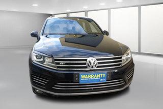 2015 Volkswagen Touareg 7P MY16 V8 TDI Tiptronic 4MOTION R-Line Blue 8 Speed Sports Automatic Wagon.