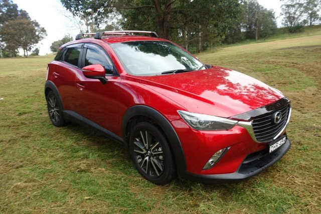 Used Mazda CX-3 DK2W76 sTouring SKYACTIV-MT East Maitland, 2016 Mazda CX-3 DK2W76 sTouring SKYACTIV-MT Red 6 Speed Manual Wagon