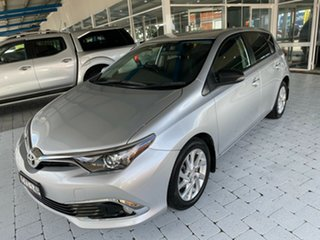 2015 Toyota Corolla Ascent Silver Constant Variable Hatchback.