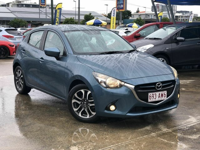 Used Mazda 2 DJ2HAA Genki SKYACTIV-Drive Chermside, 2015 Mazda 2 DJ2HAA Genki SKYACTIV-Drive Blue 6 Speed Sports Automatic Hatchback