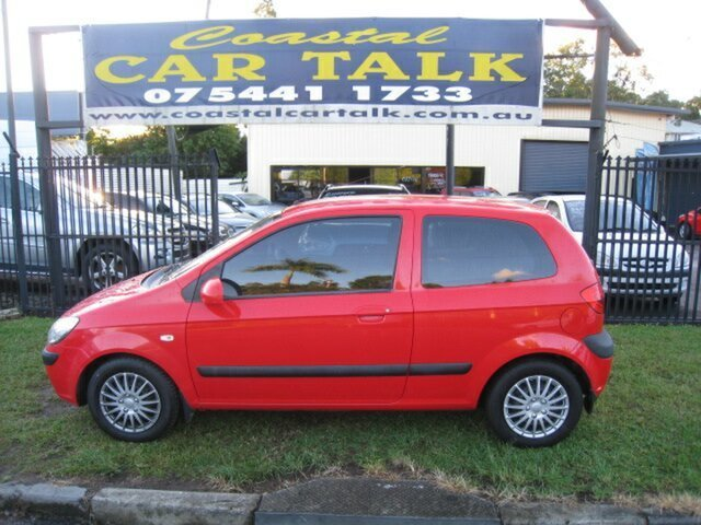 Used Hyundai Getz TB MY09 SX Nambour, 2010 Hyundai Getz TB MY09 SX Red 4 Speed Automatic Hatchback