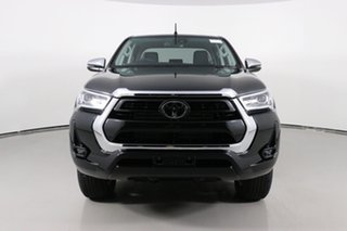 2020 Toyota Hilux GUN126R Facelift SR5 (4x4) Black 6 Speed Automatic Double Cab Pick Up.