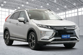 2019 Mitsubishi Eclipse Cross YA MY19 Exceed AWD Silver 8 Speed Constant Variable Wagon.