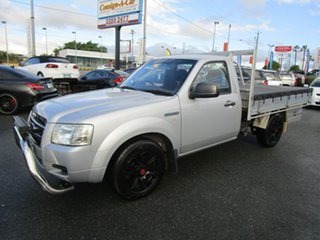 2007 Ford Ranger PJ XL Silver 5 Speed Manual Cab Chassis.