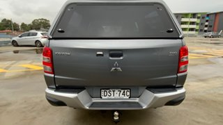 2017 Mitsubishi Triton MQ MY18 GLX+ Double Cab Grey 5 Speed Sports Automatic Utility