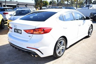 2017 Hyundai Elantra AD MY17 SR Turbo White 6 Speed Manual Sedan