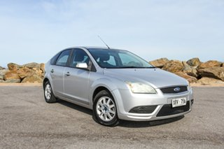 2007 Ford Focus LS CL Silver 4 Speed Sports Automatic Hatchback.