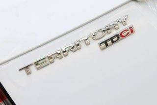 2015 Ford Territory SZ MkII TX Seq Sport Shift AWD Winter White 6 Speed Sports Automatic Wagon