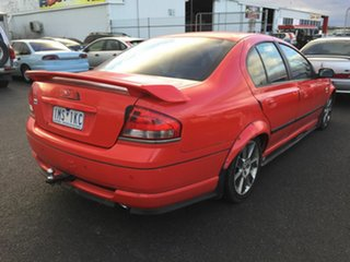 2005 Ford Falcon BA MkII XT Red 4 Speed Auto Seq Sportshift Sedan.