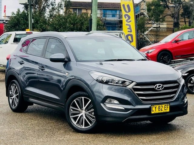 Used Hyundai Tucson TL Active X 2WD Liverpool, 2016 Hyundai Tucson TL Active X 2WD Grey 6 Speed Sports Automatic Wagon