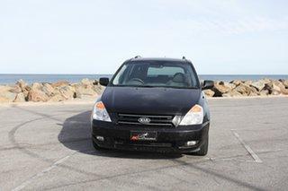 2008 Kia Grand Carnival VQ Premium Black 5 Speed Sports Automatic Wagon