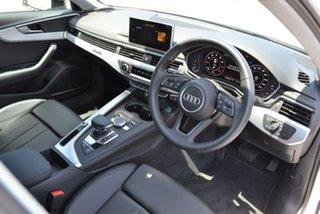 2019 Audi A4 B9 8W MY19 45 TFSI S Tronic Quattro S Line White 7 Speed Sports Automatic Dual Clutch