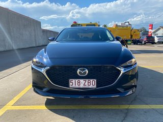 2019 Mazda 3 BP2SLA G25 SKYACTIV-Drive Evolve Blue 6 Speed Sports Automatic Sedan