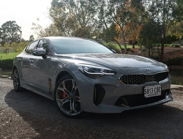 Used Kia Stinger CK MY19 GT Fastback Reynella, 2019 Kia Stinger CK MY19 GT Fastback Grey 8 Speed Sports Automatic Sedan