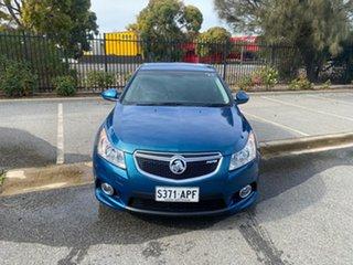 2012 Holden Cruze JH Series II MY12 SRi Green 6 Speed Sports Automatic Hatchback.