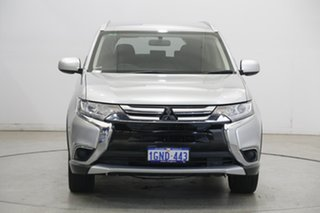 2018 Mitsubishi Outlander ZL MY18.5 ES AWD Sterling Silver 6 Speed Constant Variable Wagon.