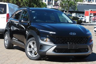 2021 Hyundai Kona Os.v4 MY21 Elite 2WD Phantom Black 8 Speed Constant Variable Wagon.