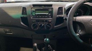 2005 Toyota Hilux KUN26R MY05 SR White 5 Speed Manual Utility