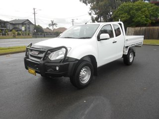 2017 Isuzu D-MAX TF MY17 SX HI-Ride (4x2) White 6 Speed Automatic Space Cab Utility.