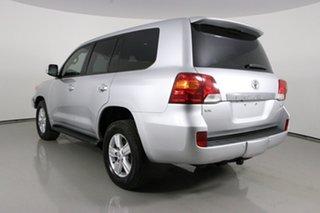 2013 Toyota Landcruiser VDJ200R MY12 VX (4x4) Silver 6 Speed Automatic Wagon