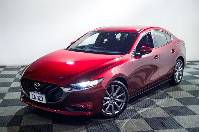 Used Mazda 3 BP2SL6 G25 SKYACTIV-MT Evolve Edgewater, 2019 Mazda 3 BP2SL6 G25 SKYACTIV-MT Evolve Red 6 Speed Manual Sedan