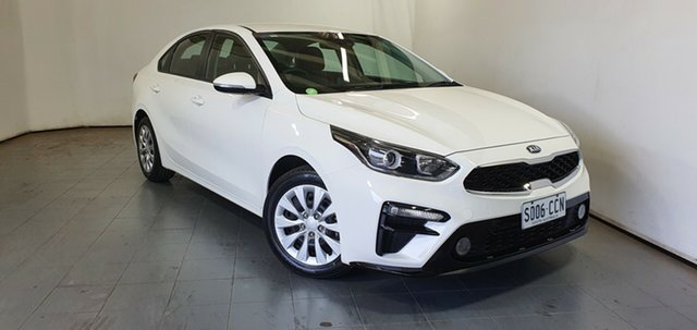 Used Kia Cerato BD MY19 S Elizabeth, 2019 Kia Cerato BD MY19 S White 6 Speed Sports Automatic Sedan