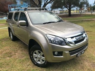 2015 Isuzu D-MAX TF MY15 LS-M HI-Ride (4x4) Fawn 5 Speed Manual Crew Cab Utility