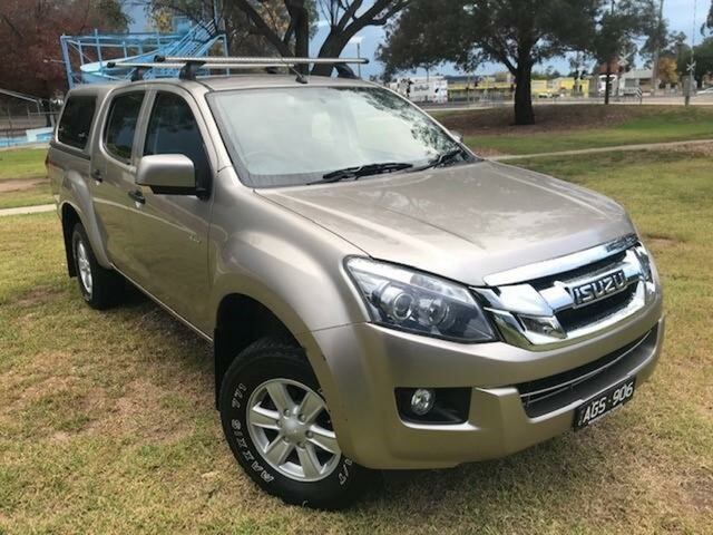 Used Isuzu D-MAX TF MY15 LS-M HI-Ride (4x4) Wangaratta, 2015 Isuzu D-MAX TF MY15 LS-M HI-Ride (4x4) Fawn 5 Speed Manual Crew Cab Utility