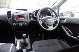 2013 Kia Cerato TD MY13 S Silver 6 Speed Manual Sedan