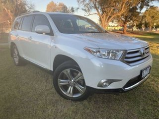 2012 Toyota Kluger GSU40R MY11 Upgrade KX-S (FWD) Crystal Pearl 5 Speed Automatic Wagon.