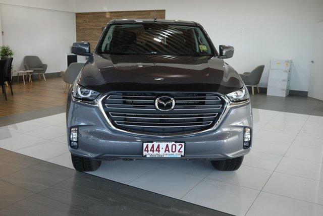 Demo Mazda BT-50 TFS40J XTR Bundaberg, 2020 Mazda BT-50 TFS40J XTR Grey 6 Speed Sports Automatic Utility