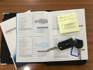 2013 Mazda 2 DE10Y2 MY13 Neo Crystal White Pearl 5 Speed Manual Hatchback