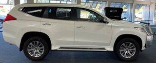2018 Mitsubishi Pajero Sport QE MY18 GLX White 8 Speed Sports Automatic Wagon.