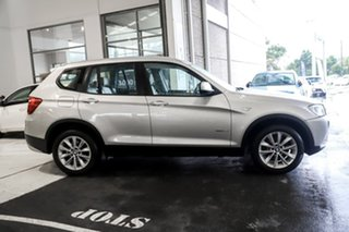 2012 BMW X3 F25 MY0412 xDrive28i Steptronic Silver 8 Speed Automatic Wagon