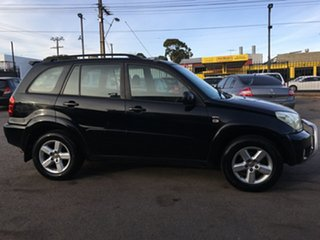 2004 Toyota RAV4 ACA23R Cruiser Black 5 Speed Manual Wagon.