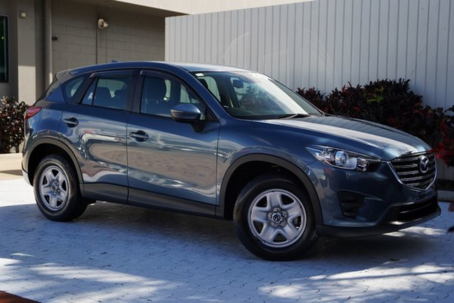 Used Mazda CX-5 KE1072 Maxx SKYACTIV-Drive FWD Cairns, 2016 Mazda CX-5 KE1072 Maxx SKYACTIV-Drive FWD Blue 6 Speed Sports Automatic Wagon